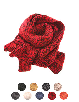 基本款简单编织围巾